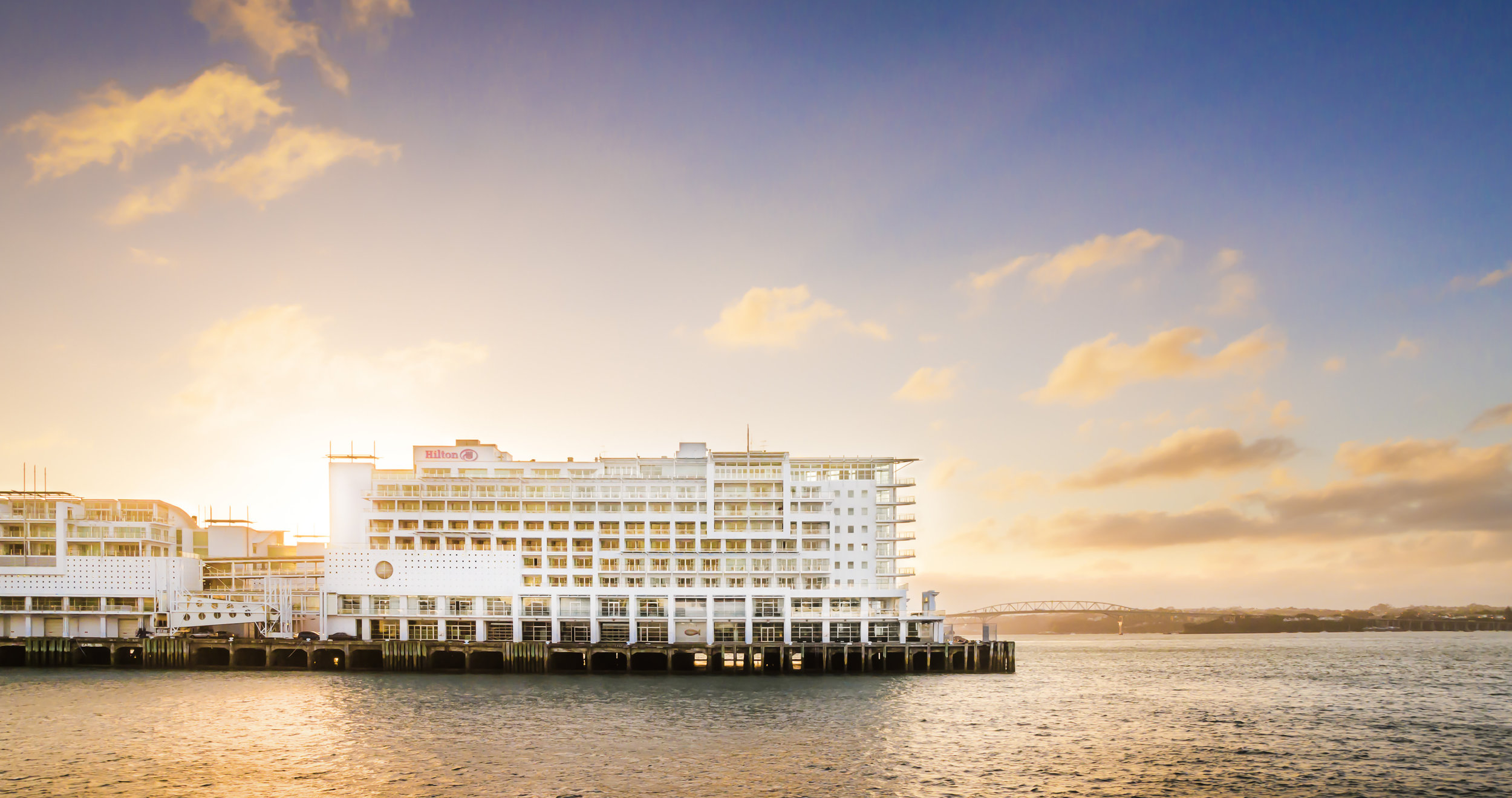 Hilton Auckland - Sitting on a wharf in Auckland Harbour, close to Restaurants and bars, Hilton Auckland has sweeping views almost from every corner. Also, don't miss their High Tea and Mixology classes in the Bellini Bar.