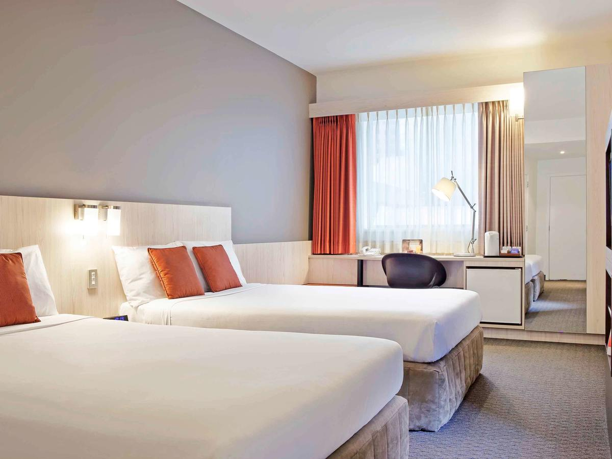 Ibis Wellington - Nice budge hotel on great location! Only a few minute's walk in every direction to get to the major tourist attractions in Wellington.