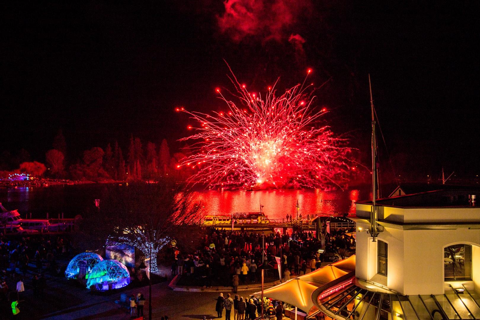 REal Journeys queenstown winter festival is spectacular!