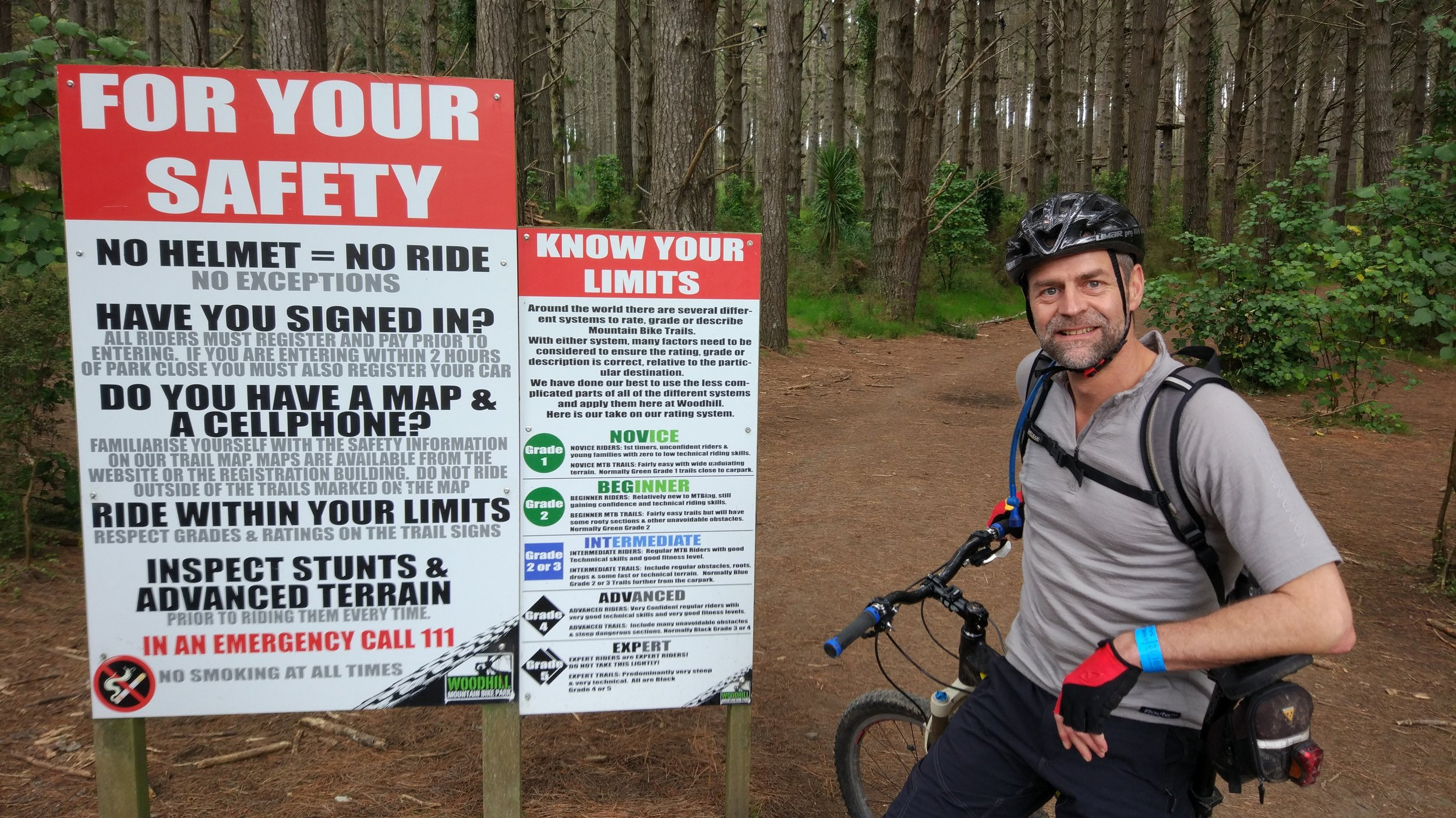 Woodhill Mountain Bike Park -