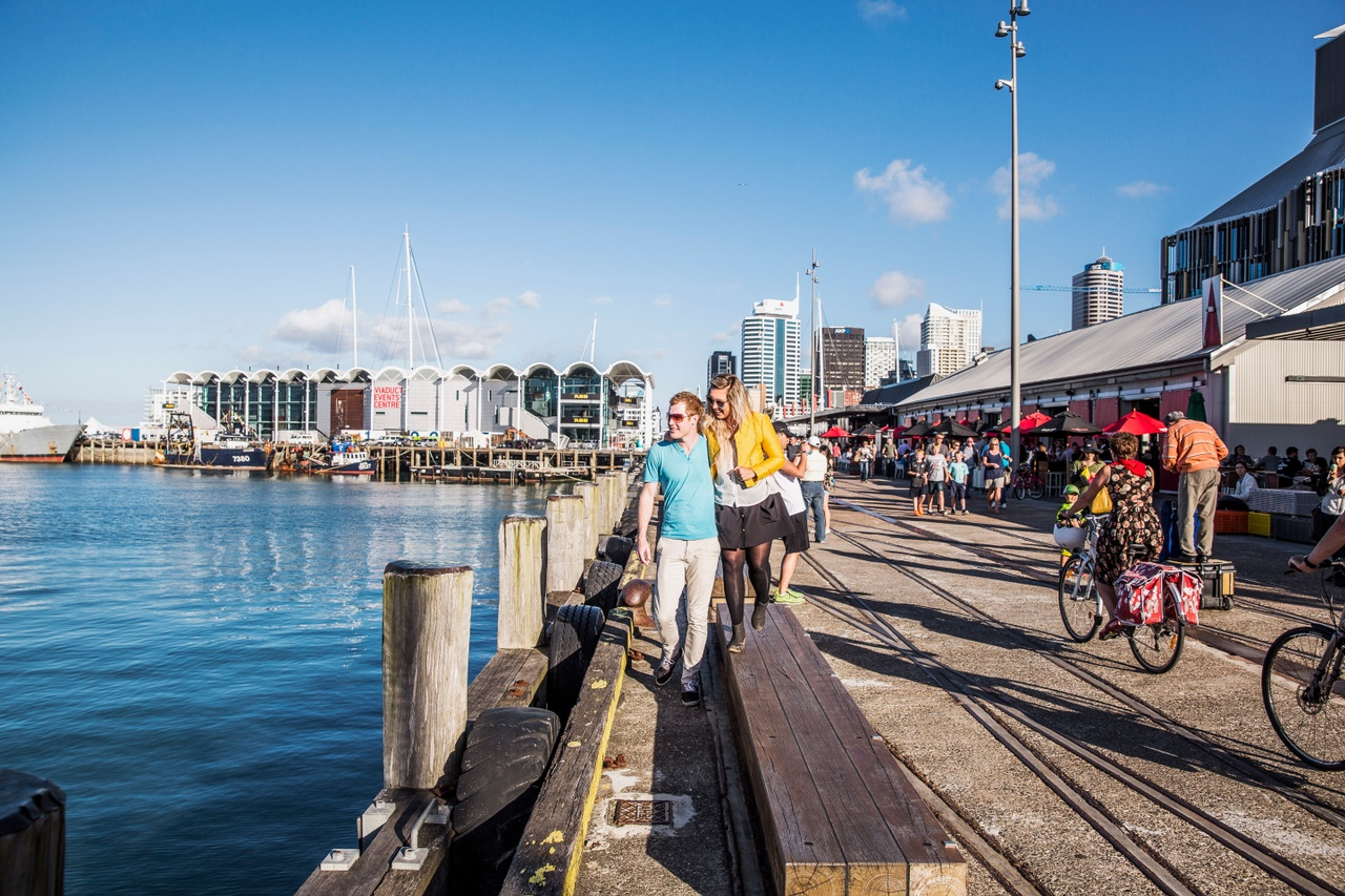 Restaurants and bars in the wynyard quarter