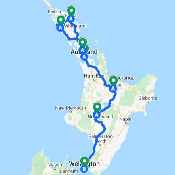 North Island Highlights - 2 weeks New Zealand North Island itinerary