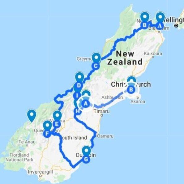 South Island Highlights - 2 weeks New Zealand South Island itinerary