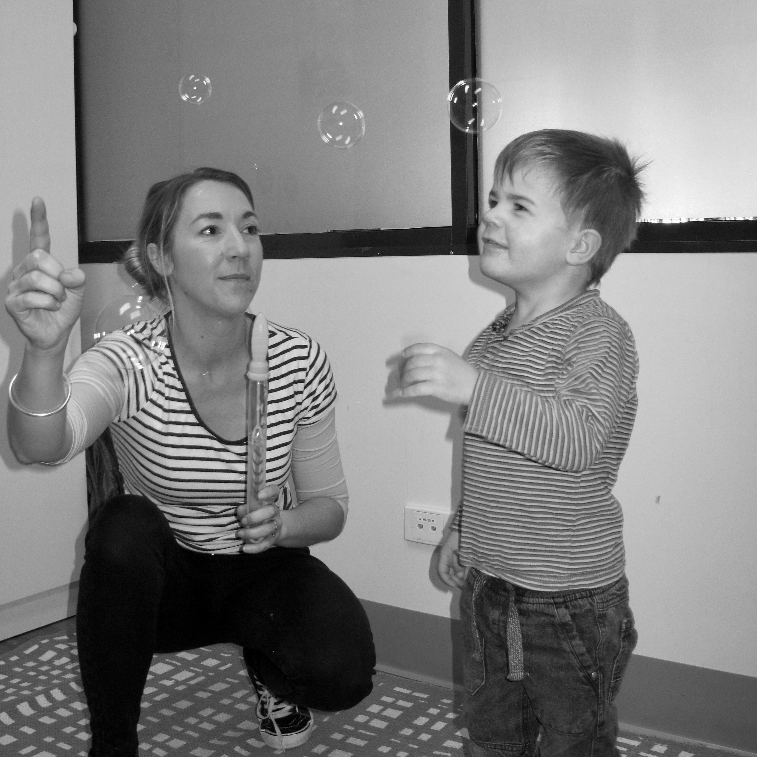 Autism toddler therapy