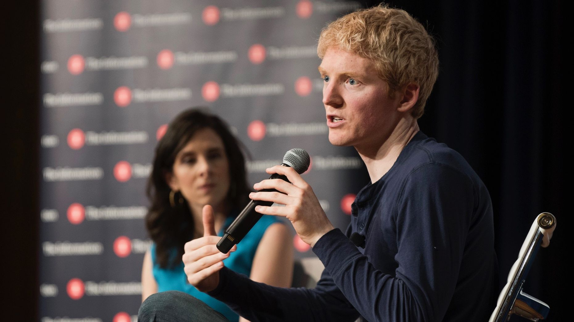 Patrick Collison, CEO & Co-Founder of Stripe.Photo by Erin Beach.