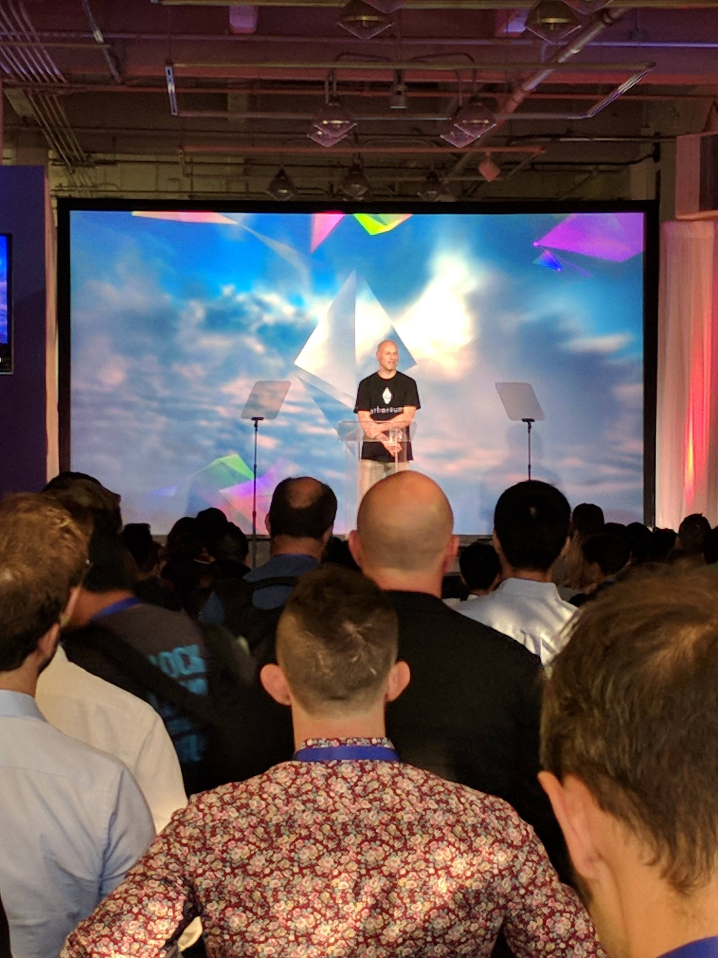 And of course, standing room only when Ethereum Co-Founder Joseph Lubin speaks
