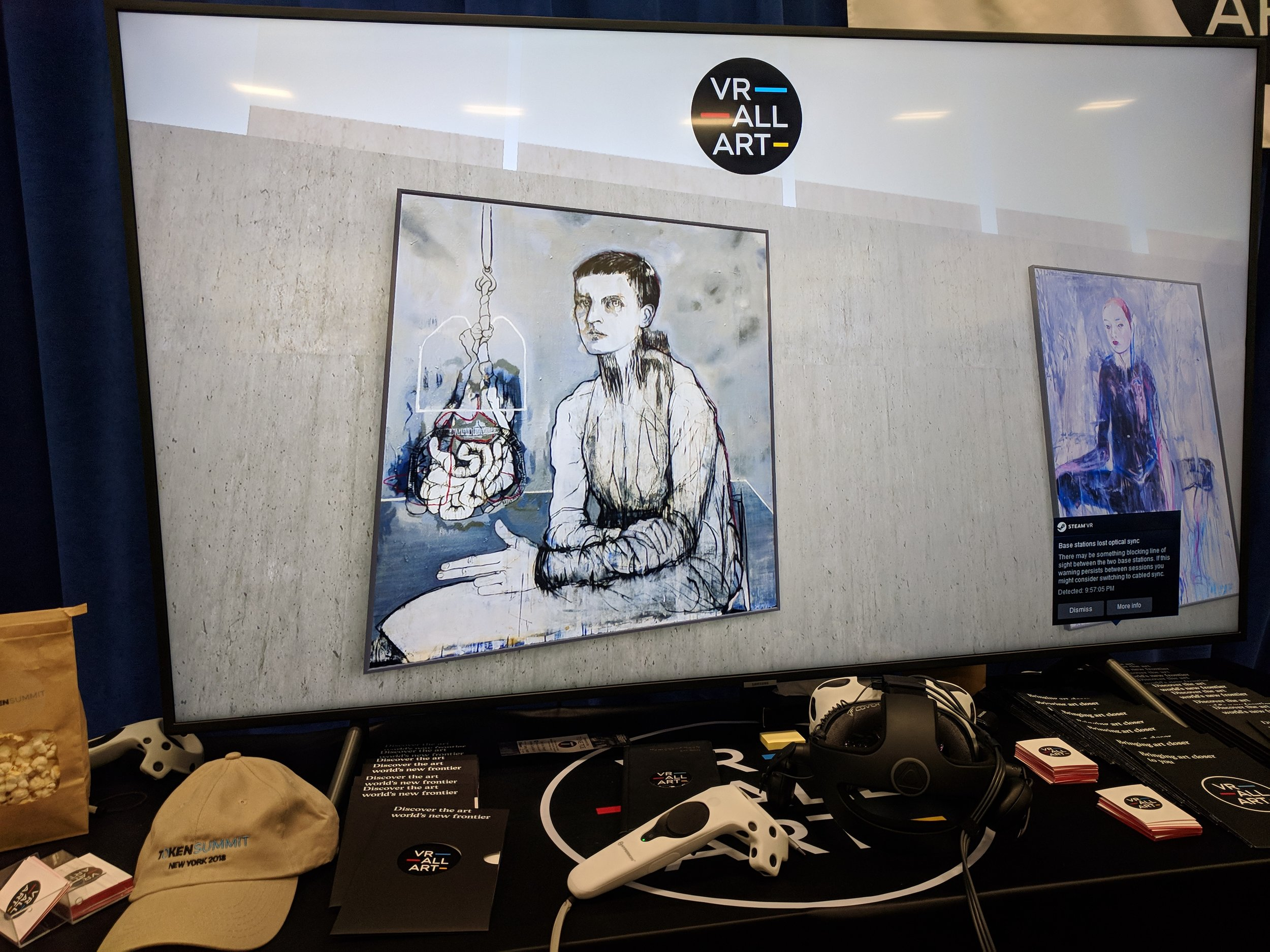 VR Art on the Blockchain
