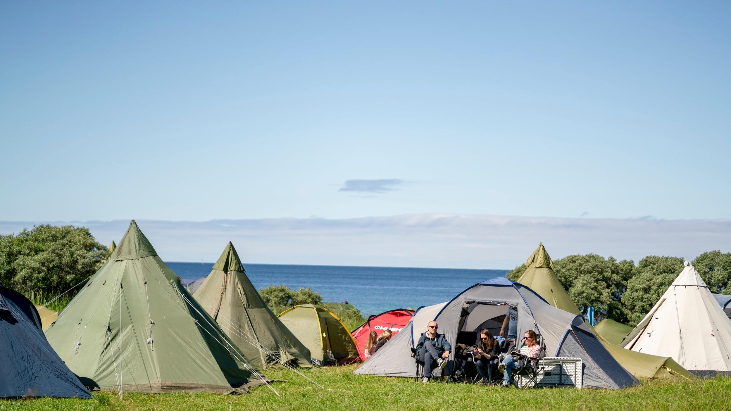 Telt-camping på Stokkøya - «How to»