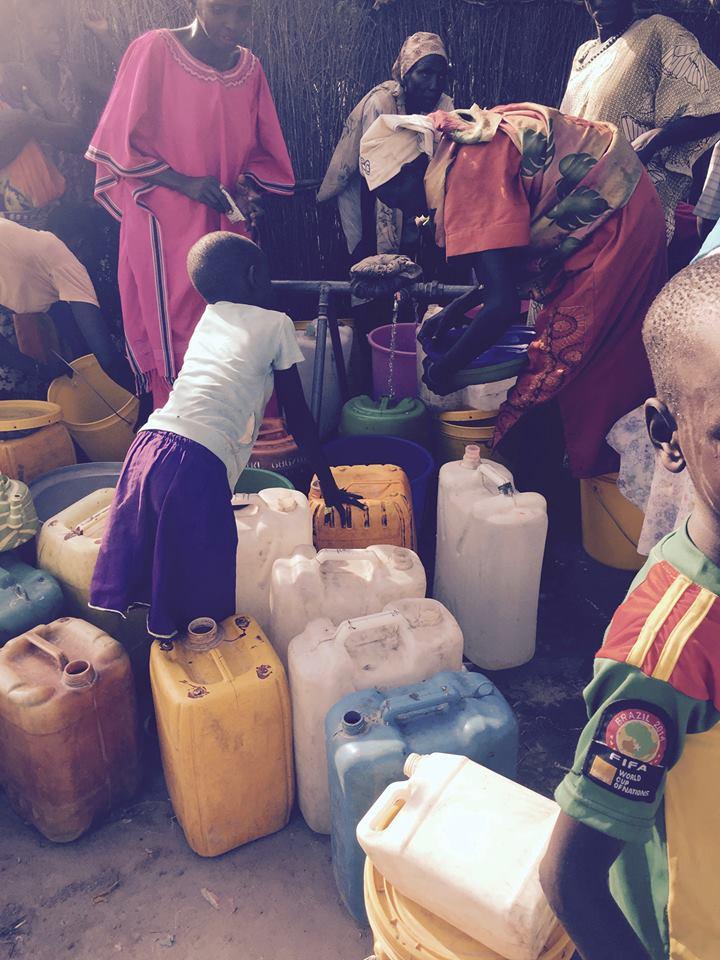 A community tap in Lankien, South Sudan.