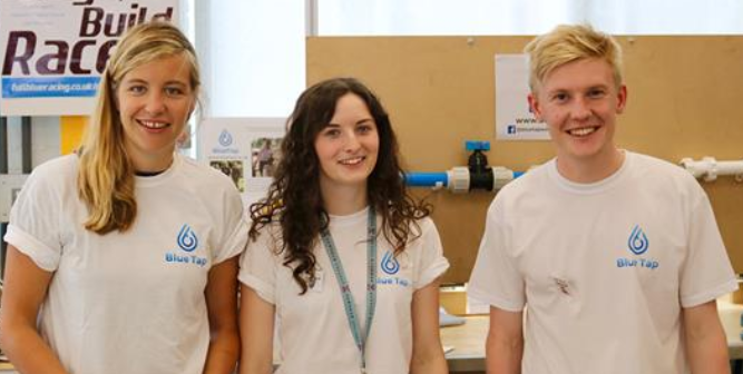 WorldLabs - BLUE TAP: HOW THREE STUDENT ENTREPRENEURS HAVE CREATED A BUSINESS THAT TAPS INTO CLEAN WATER FOR THE WORLD