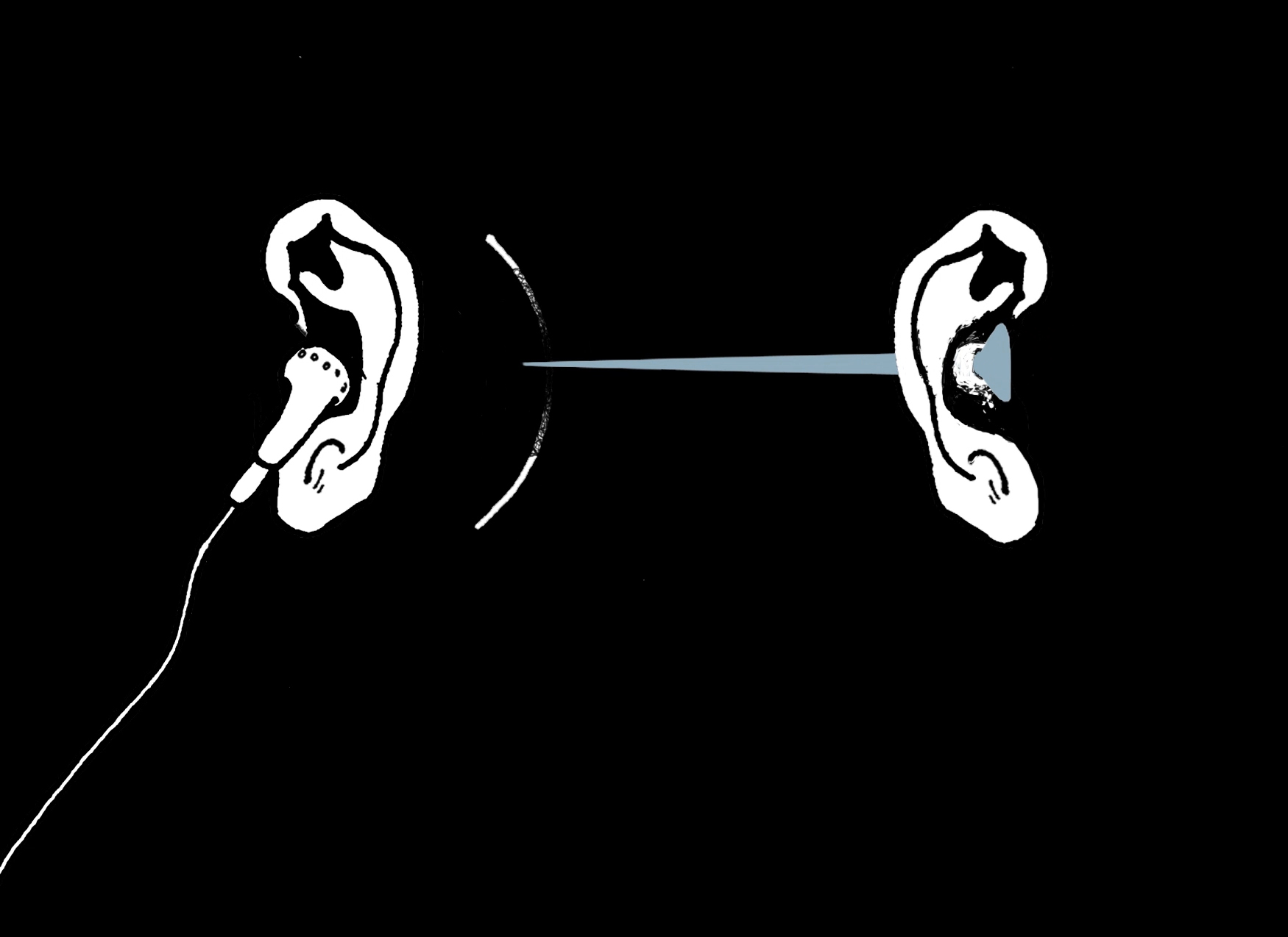 - 作品名称:《耳朵的悲剧》导演:赵坤国家/地区:中国创作时间:2014 片长:4分31秒Title: The Tragedy of the Ears Director: Zhao Kun Country/Area: ChinaYear of Production: 2014 Length: 4 mins 31 secs作品介绍源自于经历亲人的离世而获得的关于死亡的思考。动画以左右耳获得不同的声音为线索,将影片分为两个部分,分开叙述关于生存和死亡的宗教慰藉与现实苦难,并在影片的结尾展开两者的对抗。Synopsis The story is inspired by the thought coming from the experience of losing family members. The animation takes the different sounds accepted by the two ears as the thread of the story, dividing the film into two parts. The animation separately narrates the religious consolation and real suffering of life and death, but at the end of the film it begins the confrontation of the two ears.