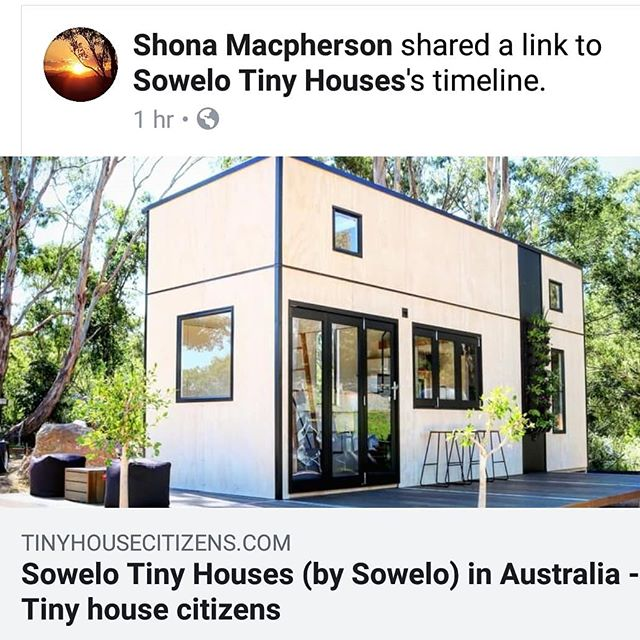 Thanks Jahy and Tiny House Citizens for your article on Sowelo Tiny Houses