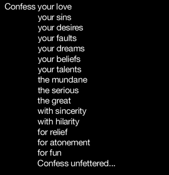 I MUST CONFESS -