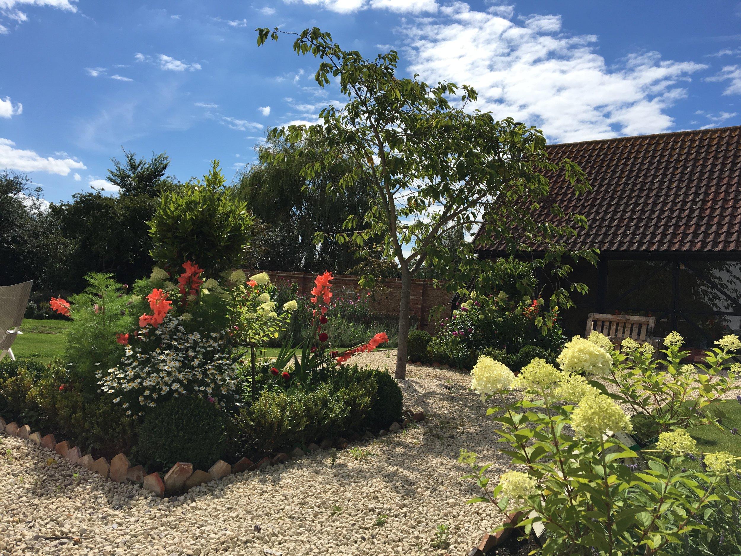 Outside view of Abbey Farm Studio