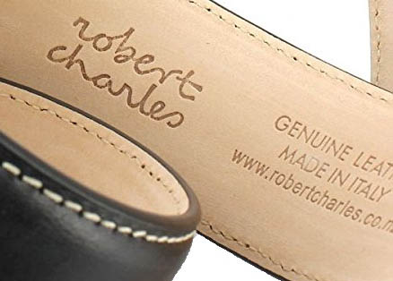 GENUINE LEATHER - Made in Italy