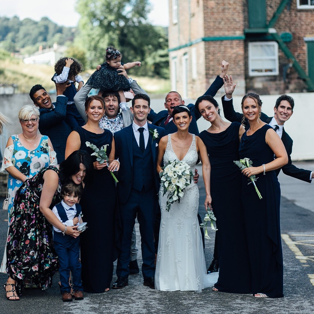 Industrial mill wedding venue Derbyshire
