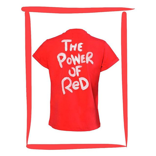 Looking for the perfect gift for your #love, bestie, or even yourself this #valentinesday? Shop our red favorites like the Power of Red tee now! Link in bio