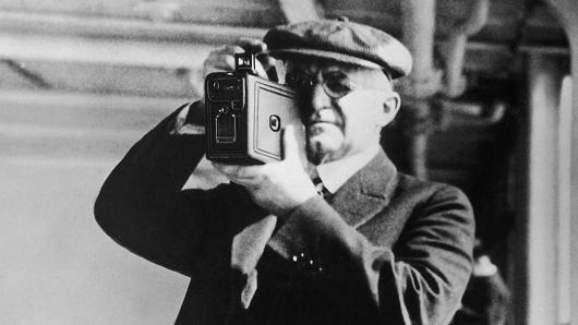 George Eastman, founder of Kodak