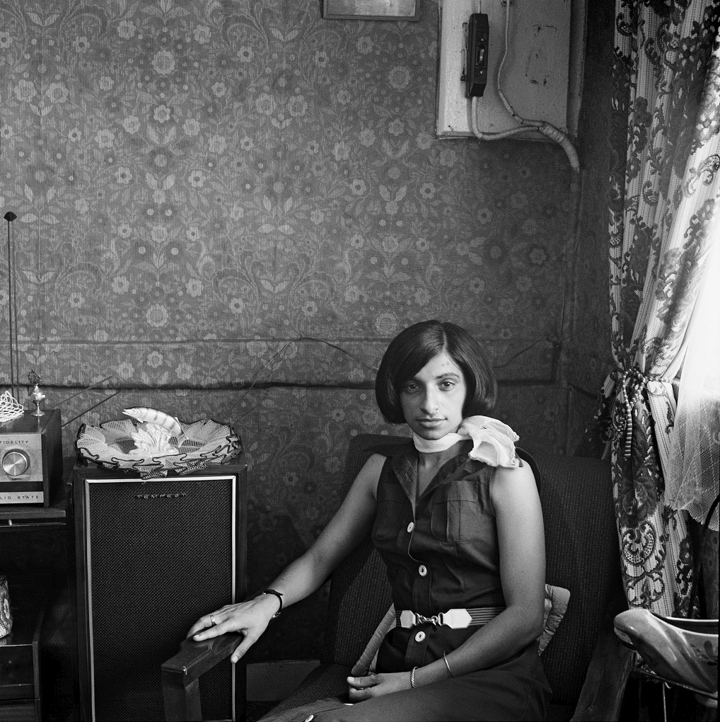 A young woman at home in Fietas before its destruction under the Group Areas Act. 1976