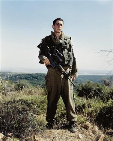 Rineke Rijkstra -  Amit, Golani Brigade, Elyakim, Israel, May 26, 1999