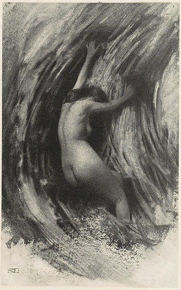 Robert Demachy - Struggle 1903