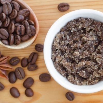 Natural Coffee Scrub DIY