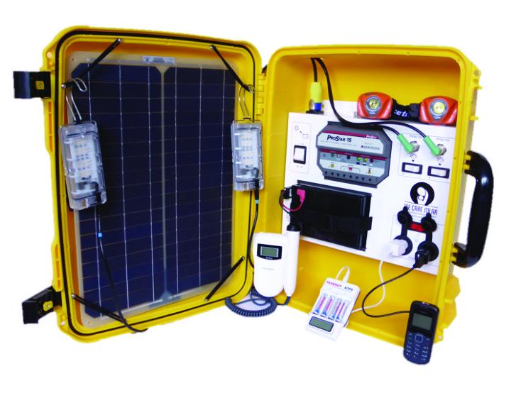We Care Solar Solar Suitcase