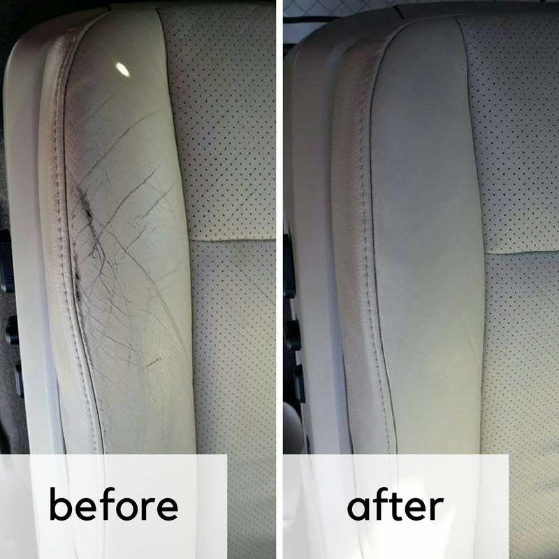 Interior Leather Restoration
