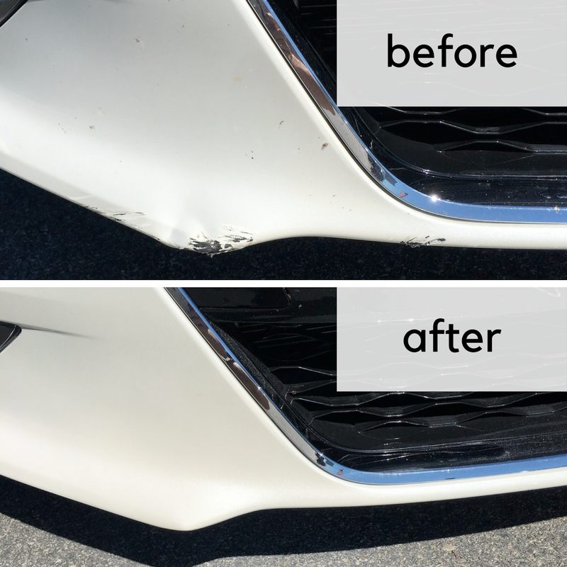 minor bumper paint repair