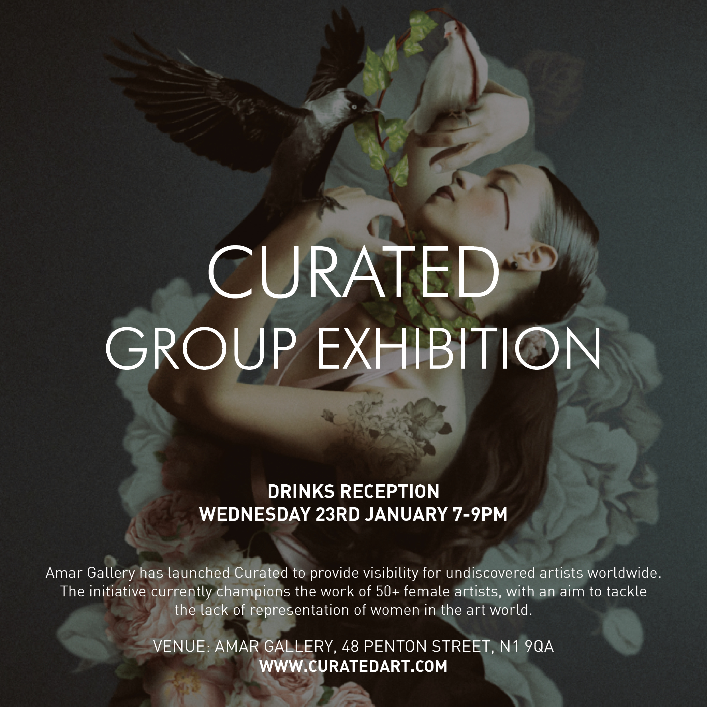 RSVP - Click above to RSVP for the drinks reception on 23 January 2019. The exhibition itself is on until Sunday 27 January 2019.
