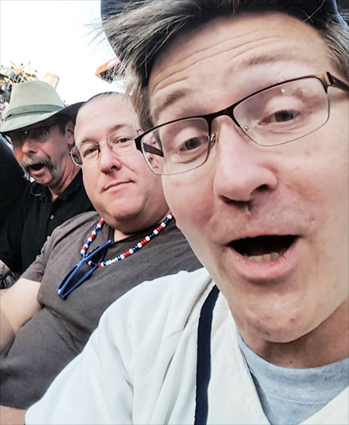 Ms. O'Brien's legacy, decades later: a Larry, Curly & Moe reunion at Wrigley Field, July 2017