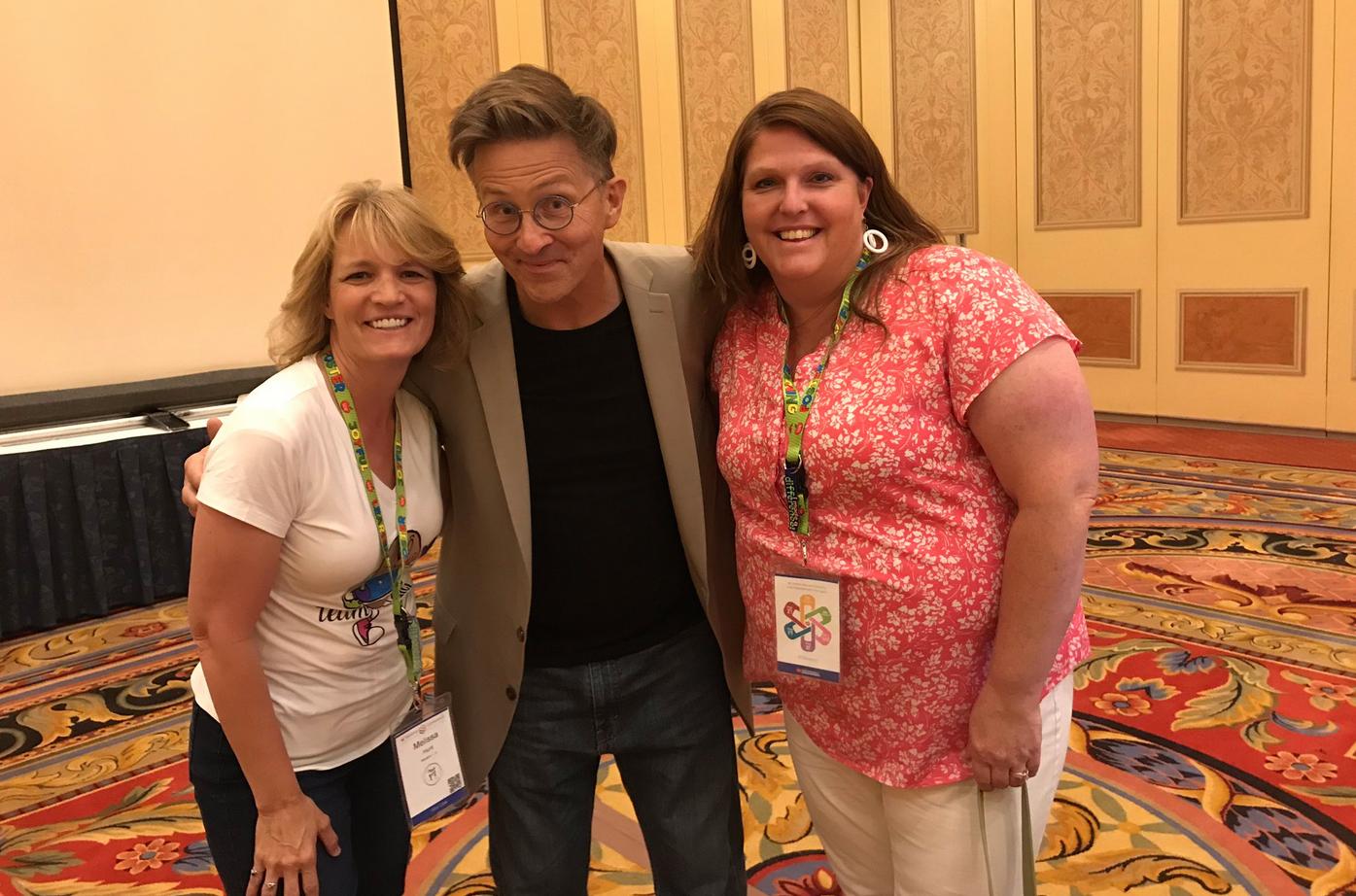Tim at SDE National Conference 2019, photo by Melissa Hunt @melh5566_hunt.png