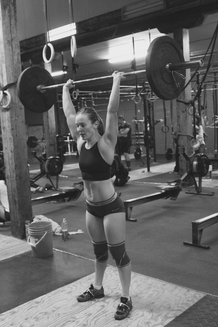 Coach  - Carrie Hall  CrossFit Level 2 Trainer