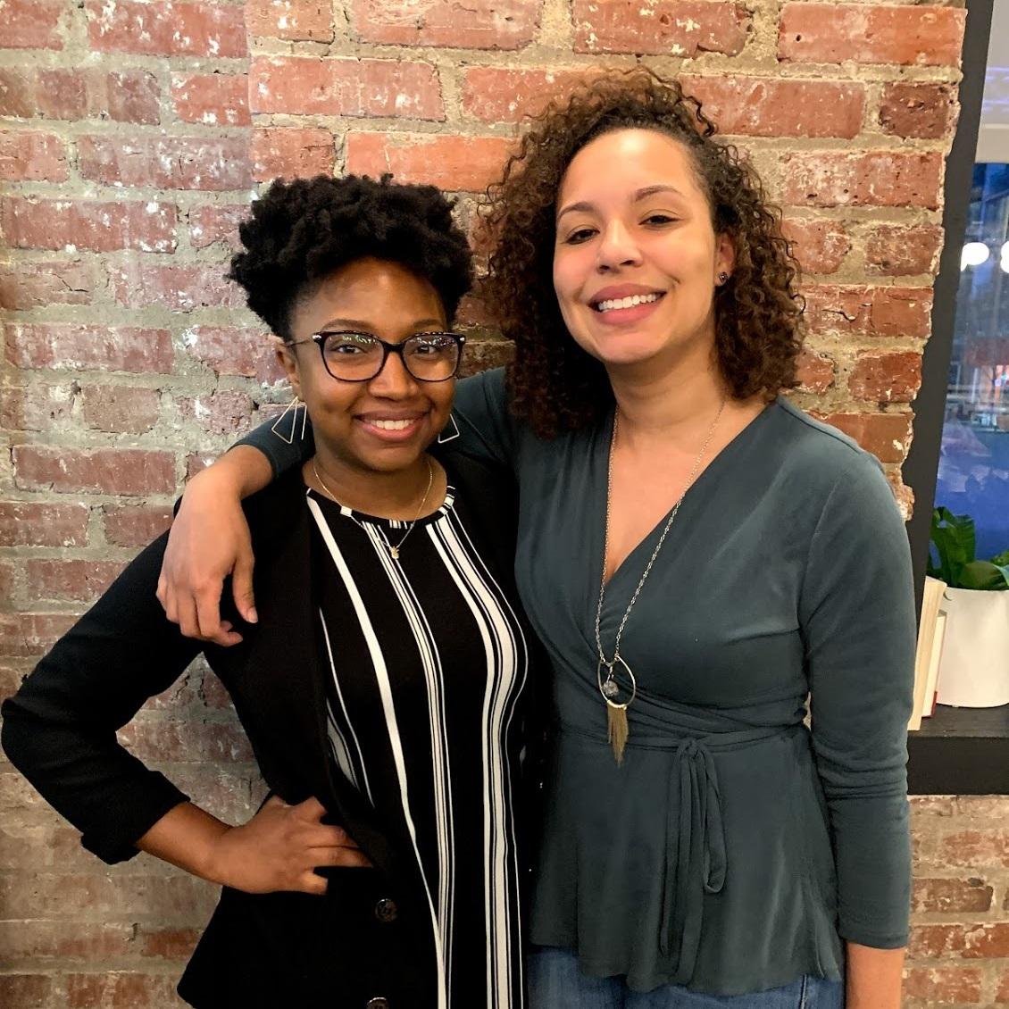 Trinique and I at our Diversify Dietetics MeetUP in Philadelphia!