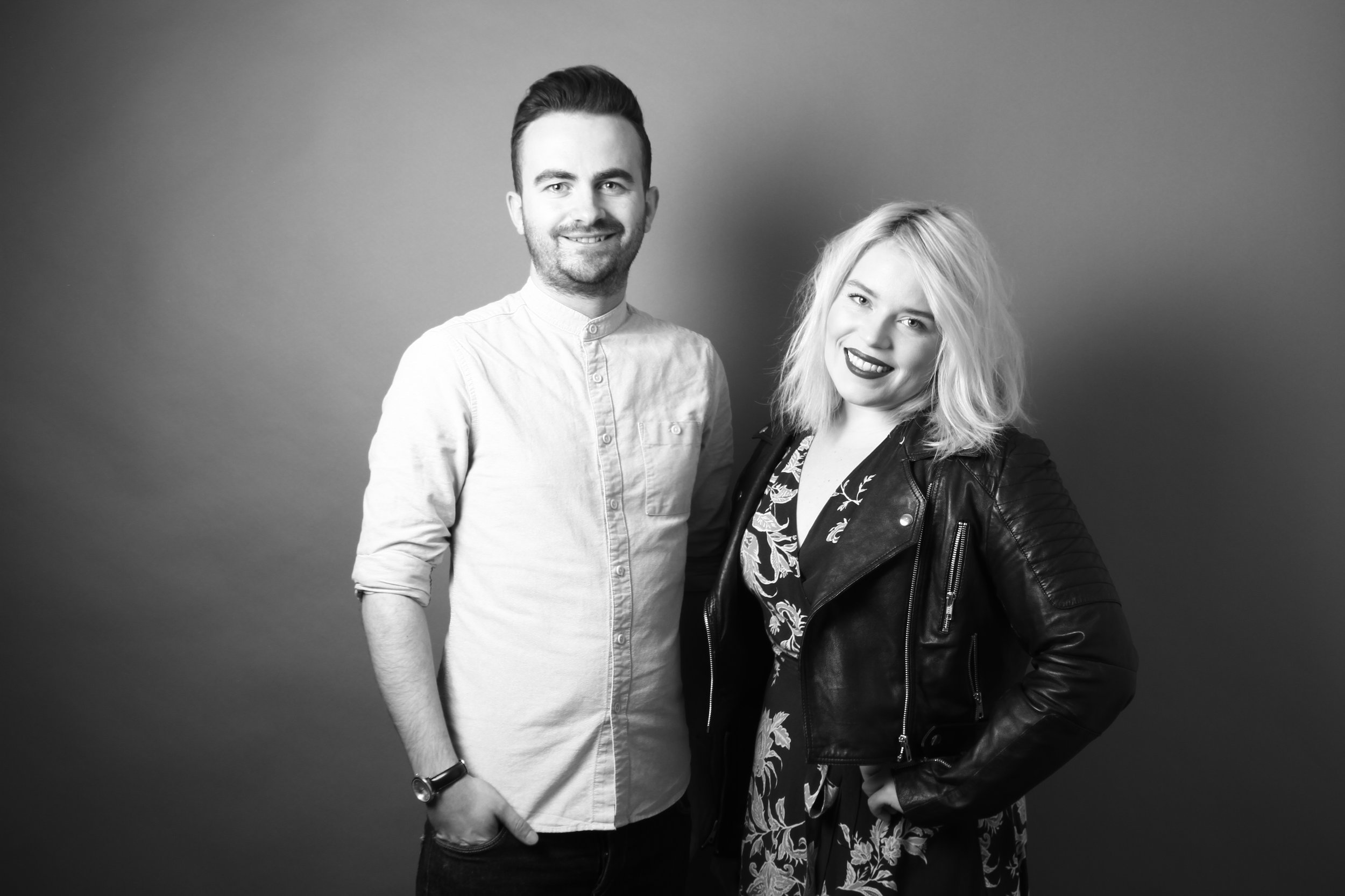 KOG founders Gordon Smith (L) and Krystin Arneson (R)