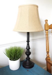 $2 lamp makeover