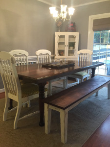 3 Creative ways to add seating to your home! TheCarolinaFarmhouse.com