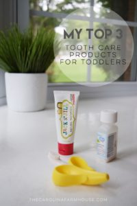 My Top 3: Tooth Care Products For Toddlers