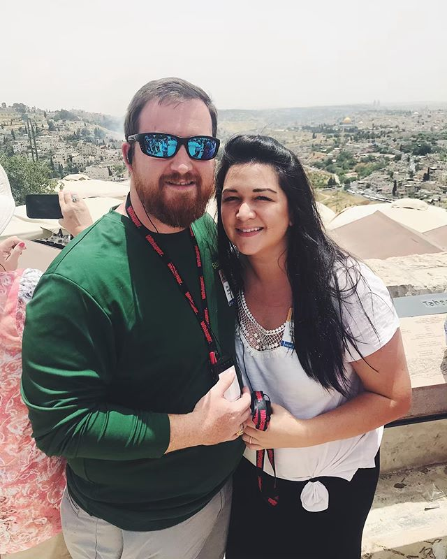 Missing Jerusalem tonight. This was when we pulled into the city and stopped at an overlook of the Temple Mount. Trip of a lifetime for sure!