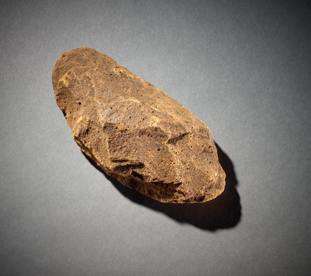 Southeast Asian Handaxe - Stone1,600,000 to 250,000 years oldIndonesiaBritish Museum