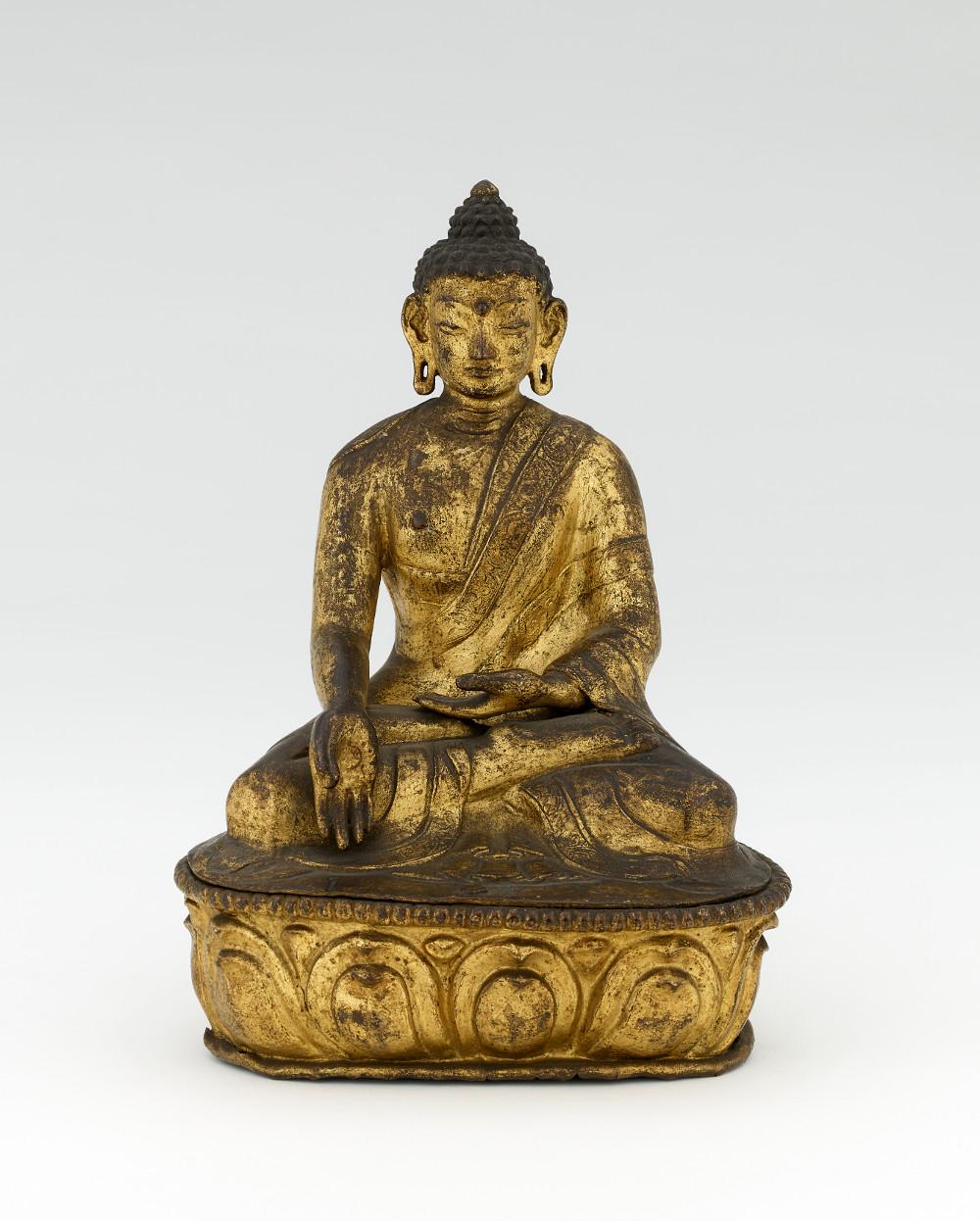Buddha - Copper alloyAD 1500–1700TibetBritish Museum