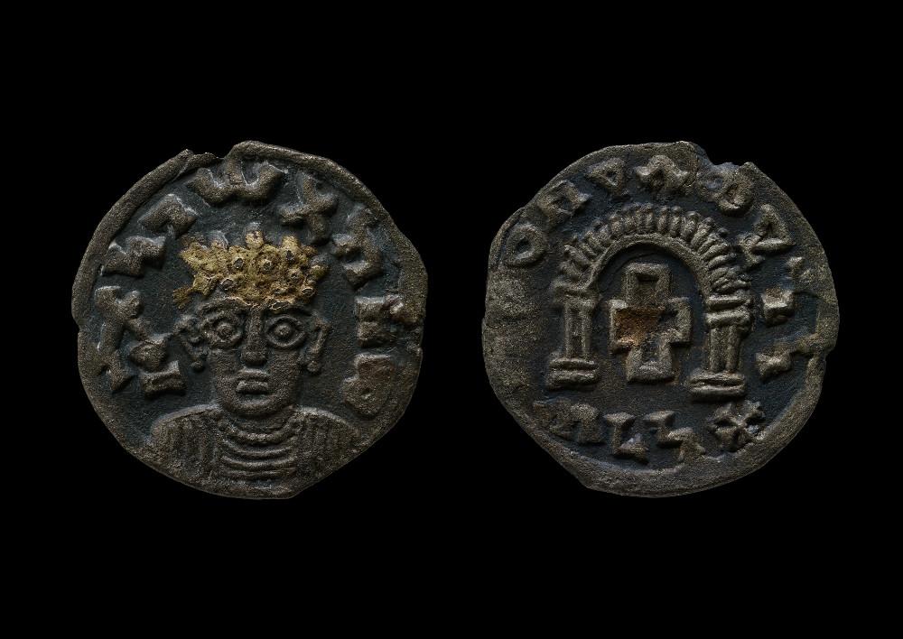 Aksumite coin of Za-ya'abiyo la madhen negus - CopperAD 340–540Ethiopia British Museum