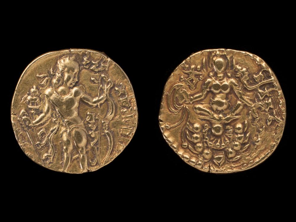 Gupta dinar of Chandragupta II - GoldAD 385–414Central IndiaCSMVS