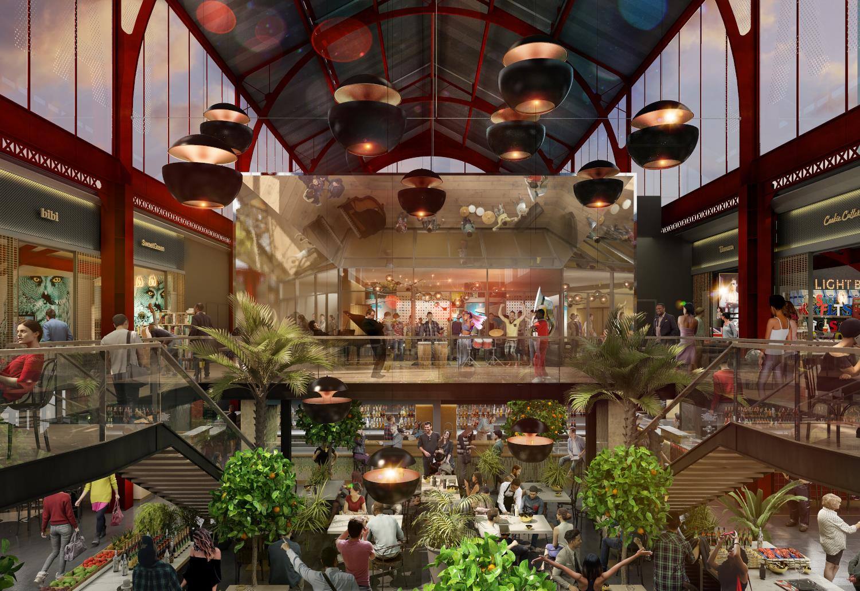 La future halle de la Gare du Sud à NIce