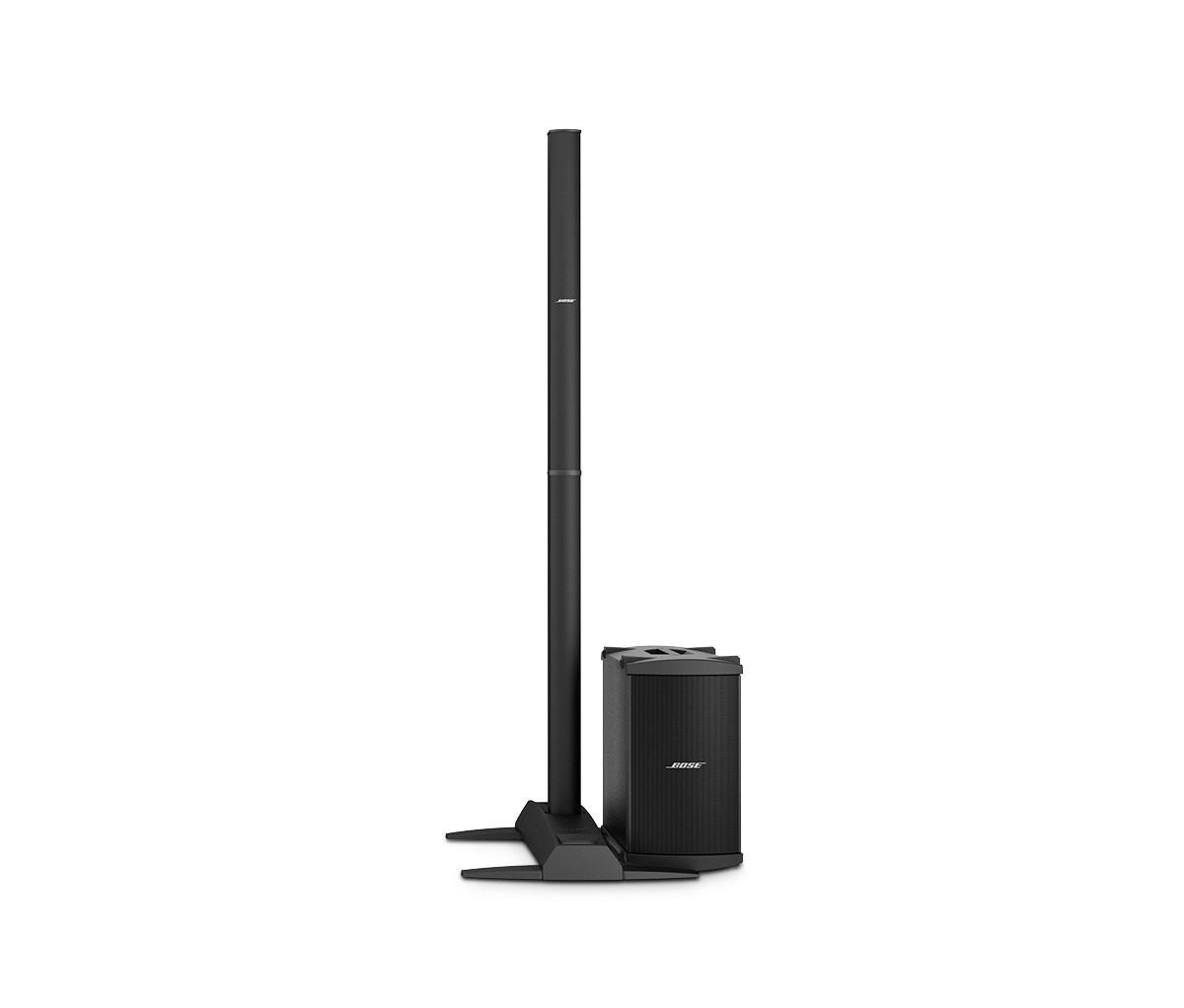 Bose System - Our lowest profile system.  Enough sound so everyone can hear but small enough to not distract your guests.
