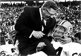Vince Lombardi was known for his inspirational style of coaching for the Green Bay Packers in the NFL.