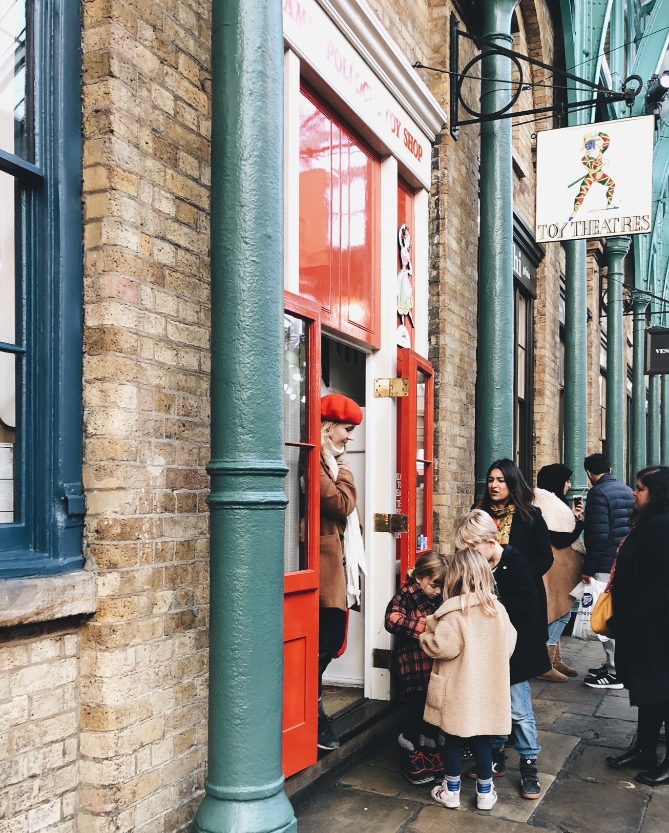 Our favourite toy shop, Benjamin Pollock's in Covent Garden