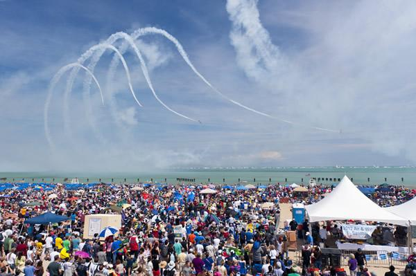 Overcrowded events. I would love to do the Air and Water show with my daughter every year but getting near the lake for that event is BANANAS. -