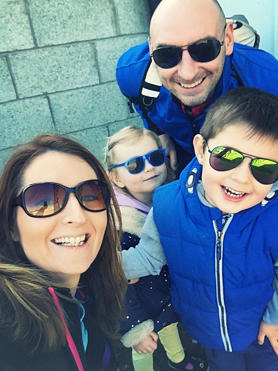 Adam & Ruth Hankintaylor, 5isobel, 3 - Dublin