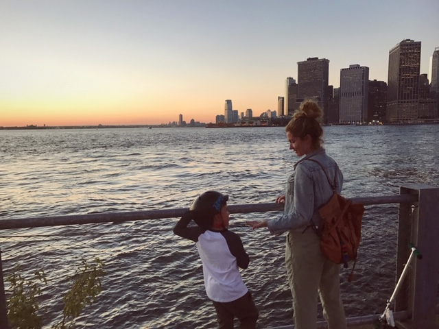 Jess and Hays back in Brooklyn